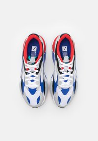 Puma - RS-X UNISEX - Sneaker low - white/dazzling blue/hi rise - 3