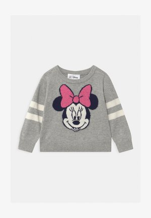 TODDLER GIRL MINNIE MOUSE  - Strickpullover - grey