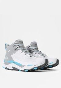The North Face - VECTIV EXPLORIS MID FUTURELIGHT - Hiking shoes - micro chip grey/maui blue - 3