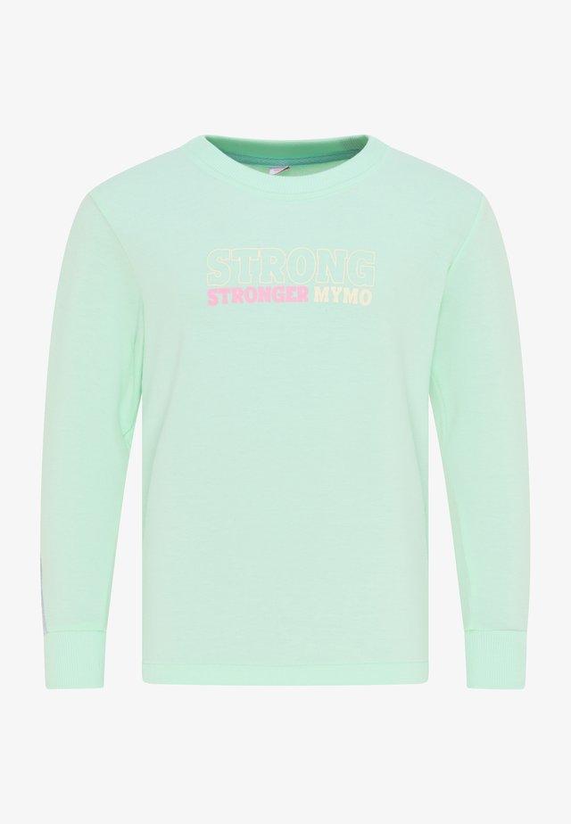 Sweater - minze hellgrau