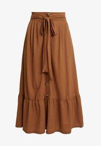 mint&berry - A-line skirt - brown - 3