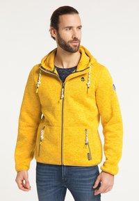 Schmuddelwedda - Light jacket - senf melange - 0
