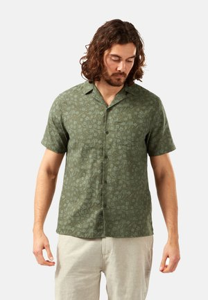 NOSIBOTANICAL PASPORT - Shirt - parka green print