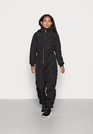ONLLAURA HOODED ONE PIECE - Combinaison - black