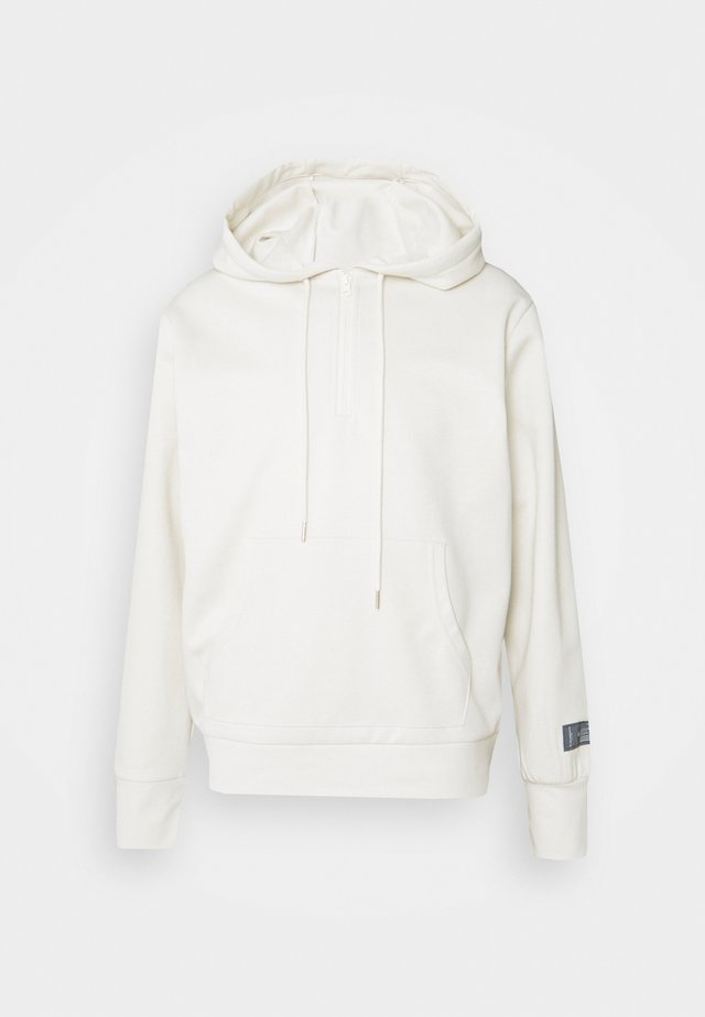 ESSENTIAL ZIP UP HOODIE - Hoodie - beige