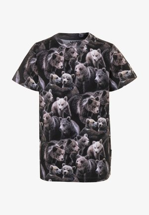 RALPHIE - T-shirt print - black