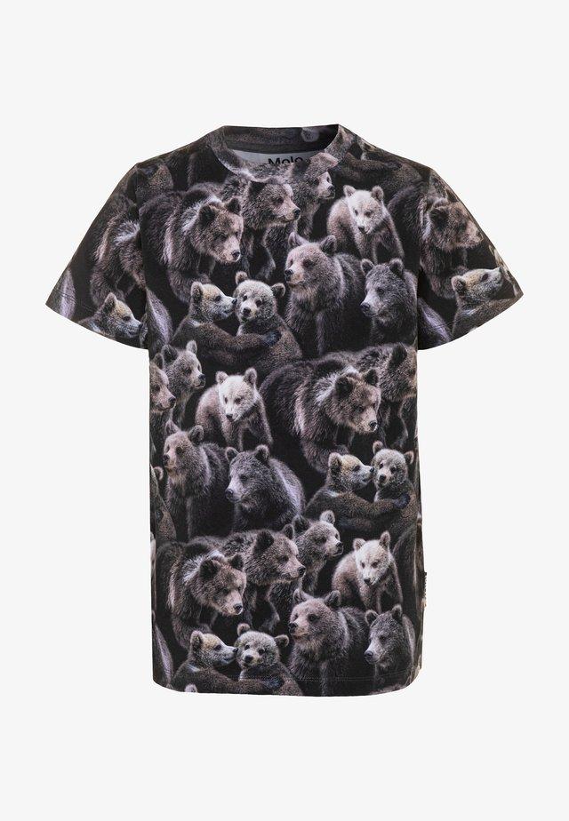 RALPHIE - T-shirts med print - black