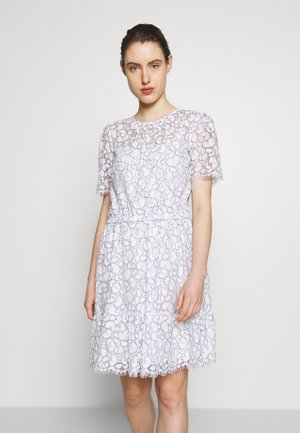 FLOUNCE LACE DRESS - Vestito estivo - white