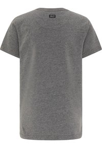 Petrol Industries - T-SHIRT - Print T-shirt - light slate melee - 1