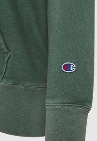 Champion Reverse Weave - HOODED - Hættetrøjer - dark green - 2