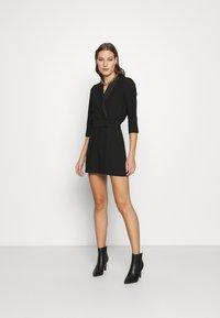 Closet - CLOSET TUXEDO PLAYSUIT - Jumpsuit - black - 1