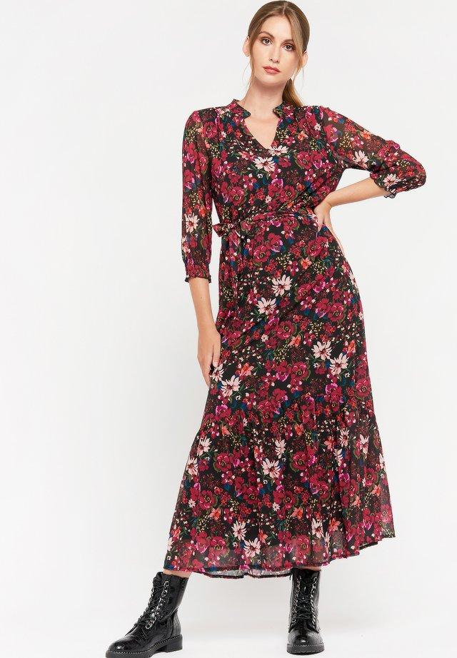 Korte jurk - virtual pink