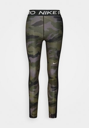 TIGHT 7/8 CAMO - Trikoot - thunder grey/black/white
