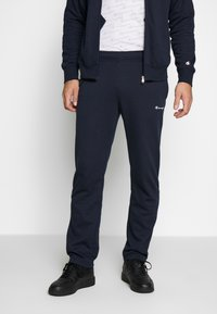 Champion - FULL ZIP SUIT - Träningsset - navy - 3