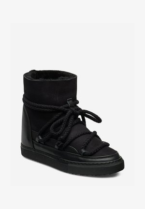 CLASSIC - Lace-up ankle boots - black
