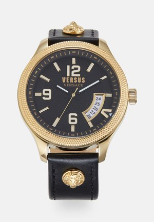 REALE - Watch - black/gold-coloured