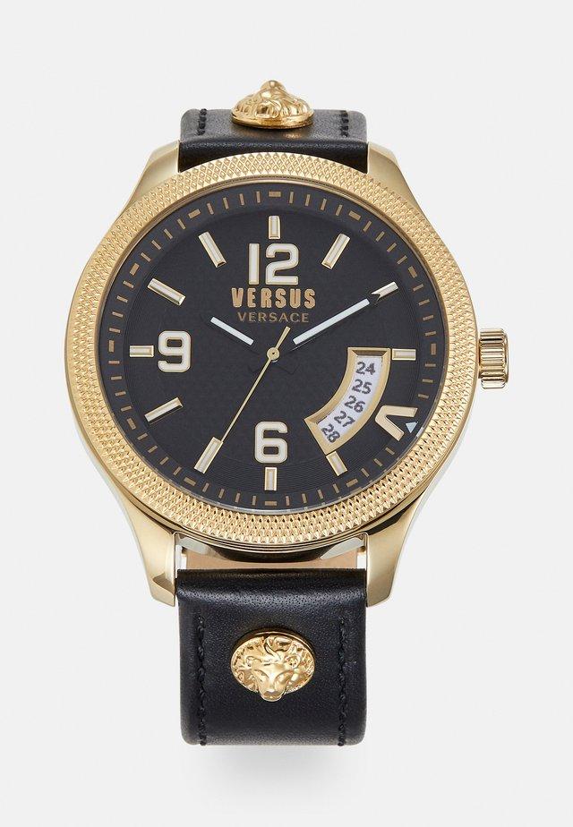 REALE - Uhr - black/gold-coloured