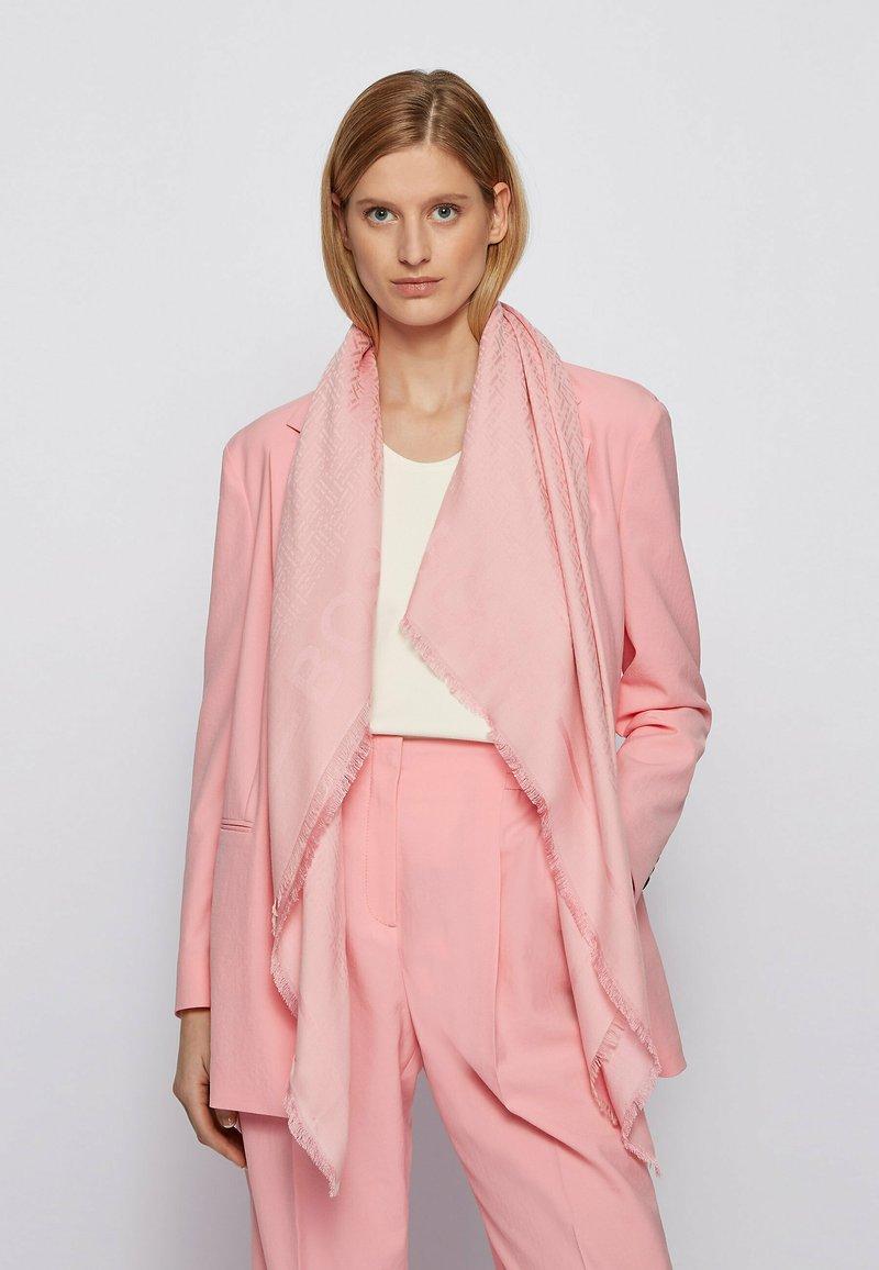 BOSS - LEDONIA - Scarf - pink