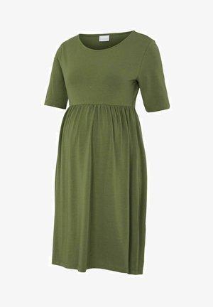 Sukienka z dżerseju - olivine