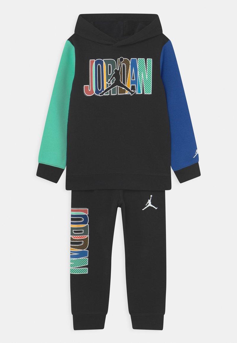 Jordan - HOODIE SET UNISEX - Survêtement - black