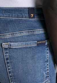 7 for all mankind - CROP - Jeans Skinny Fit - mid blue - 3