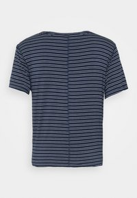 Abercrombie & Fitch - TEE - T-shirts med print - navy - 1