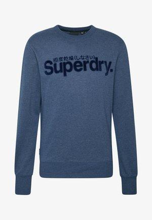 CORE LOGO CREW - Sweatshirt - princedom blue marl