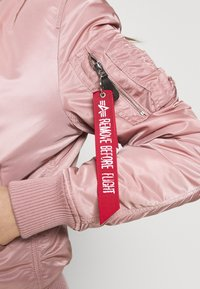 Alpha Industries - Bomber Jacket - silver pink - 7