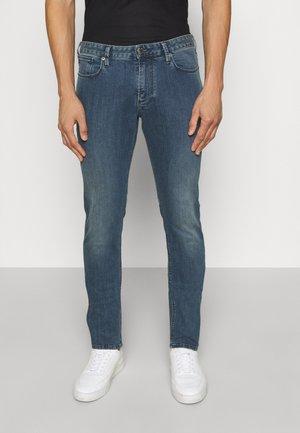 5 POCKETS PANT - Džíny Slim Fit - denim blu