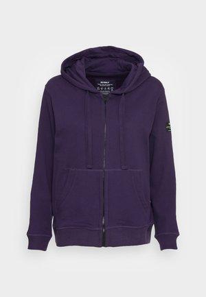 BASICALF WOMAN HOODIE - Zip-up sweatshirt - purple