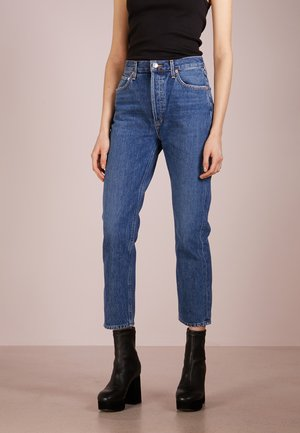 RILEY HIGHRISE - Straight leg jeans - air blue