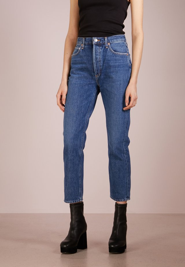 RILEY HIGHRISE - Jeans Straight Leg - air blue