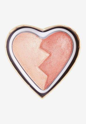 I HEART REVOLUTION HEARTBREAKERS SHIMMER BLUSH - Blusher - strong