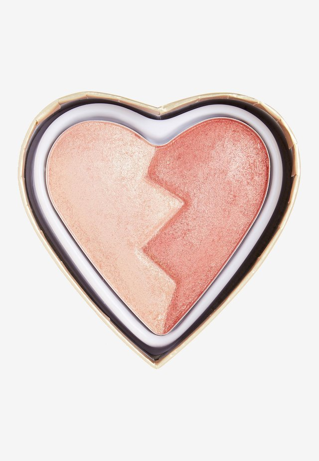 I HEART REVOLUTION HEARTBREAKERS SHIMMER BLUSH - Rouge - strong