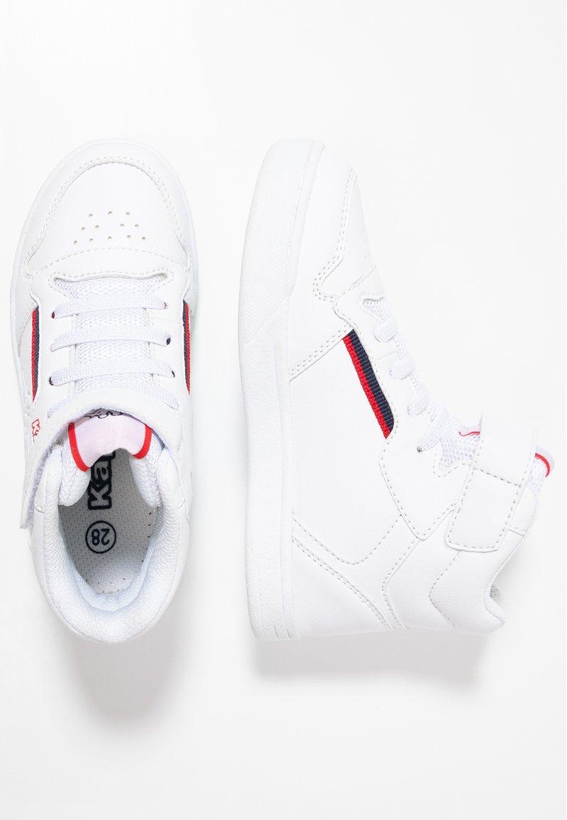 Kappa - MANGAN - Sports shoes - white/red