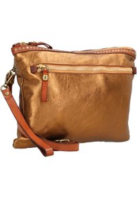 Campomaggi - Across body bag - bronzo+t/cognac - 2