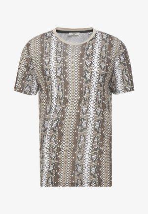 JPRVIPER TEE CREW NECK - T-shirt print - magnet