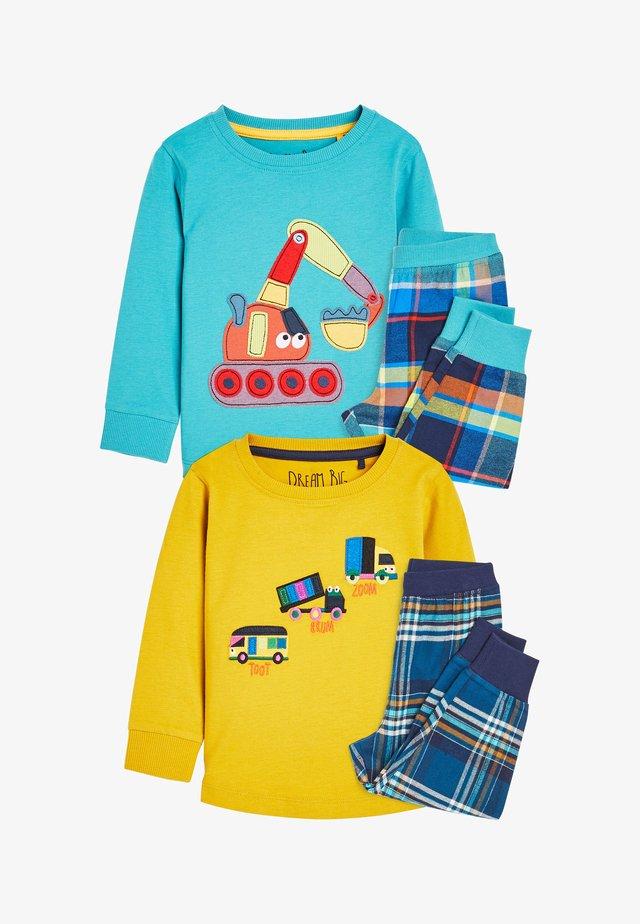 2 PACK TRANSPORT  - Pyjamas - yellow