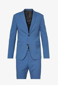 PLAIN SUIT - Suit - mid blue