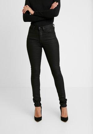 HIGHTOP TILDE - Jeansy Skinny Fit - painted black