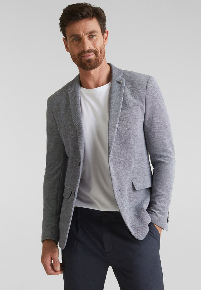 Esprit Collection - Blazer jacket - medium grey