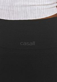 Casall - SEAMLESS BLOCKED - Tights - black - 4
