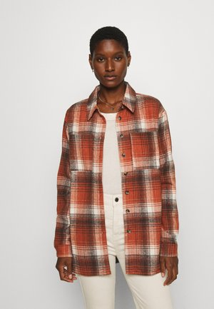 KASORENA CHECKED - Button-down blouse - sierra
