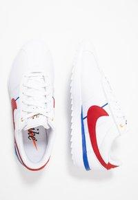 Nike Golf - CORTEZ - Golf shoes - white/varsity red/varsity royal - 1