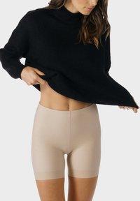 mey - SHORTS SERIE NOVA - Pants - cream tan - 2