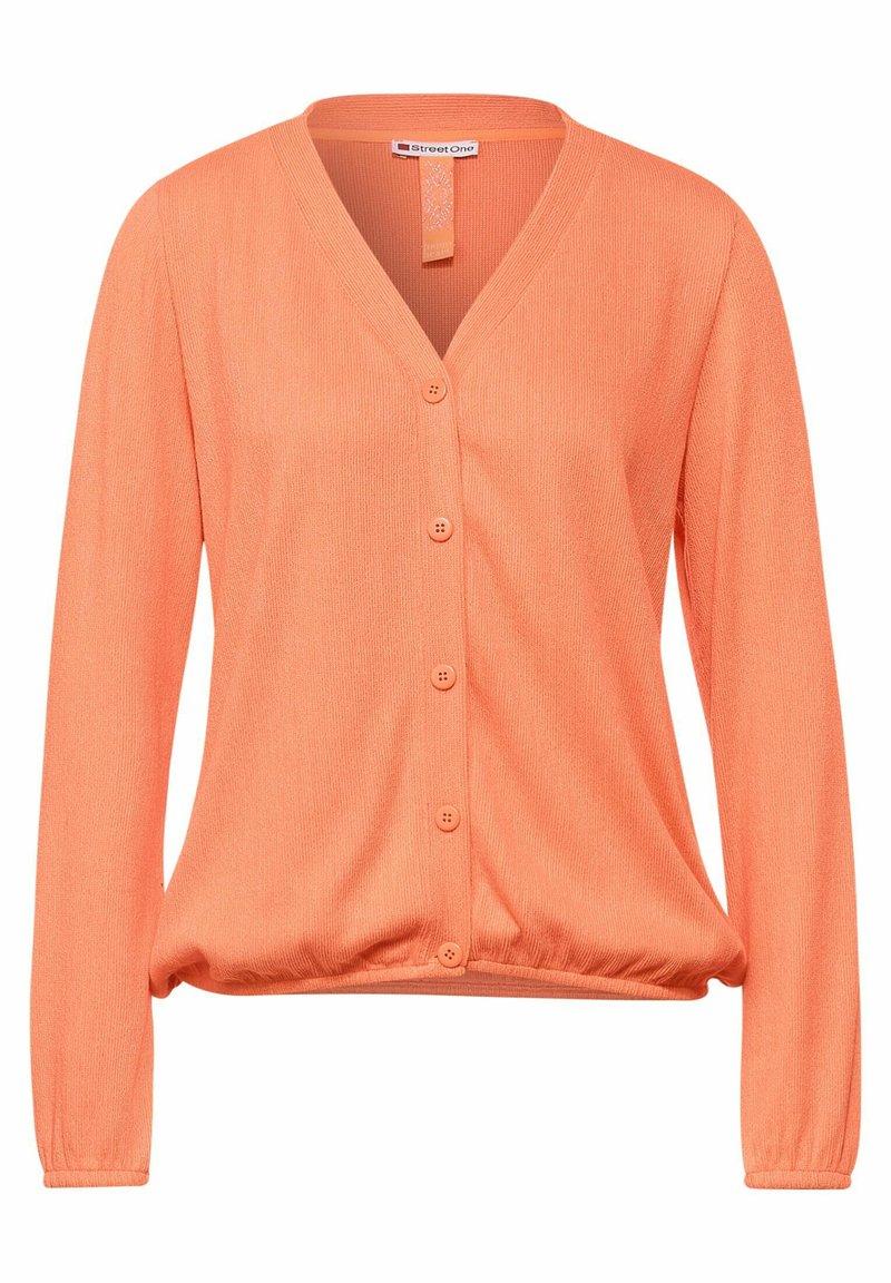 Street One - Cardigan - orange