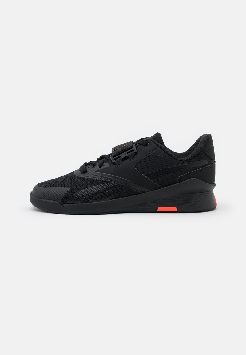 Reebok - LIFTER PR II - Sports shoes - core black/night black
