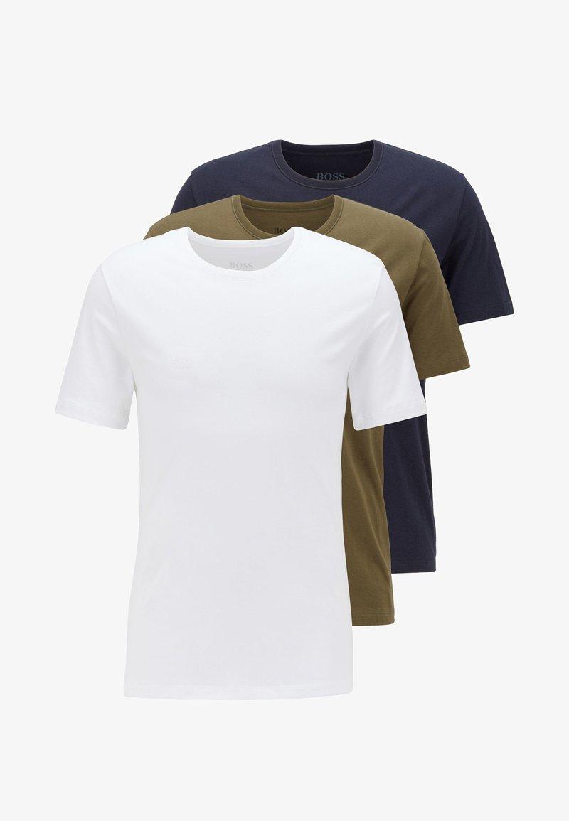 BOSS - 3 PACK - Unterhemd/-shirt - open green