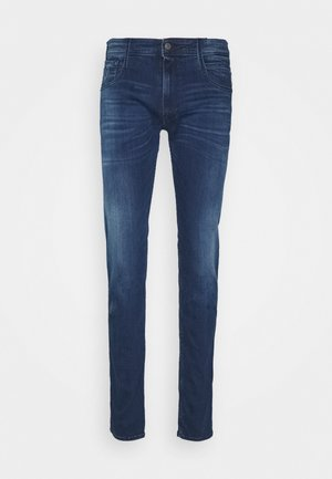 ANBASS - Jeans Slim Fit - medium blue