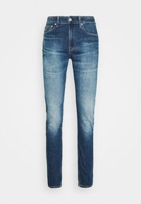 Calvin Klein Jeans - SLIM TAPER - Jeans Tapered Fit - bright blue - 3